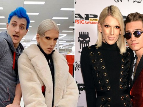 Jeffree Star opens up on Nathan Schwandt split as he lives the life with Ninja at Super Bowl