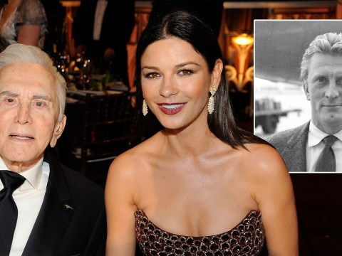 Catherine Zeta-Jones pays tribute to 'darling' Kirk Douglas as he dies aged 103
