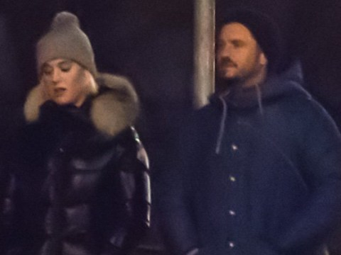 Katy Perry and Orlando Bloom take romantic stroll as she jets out of London to Prague