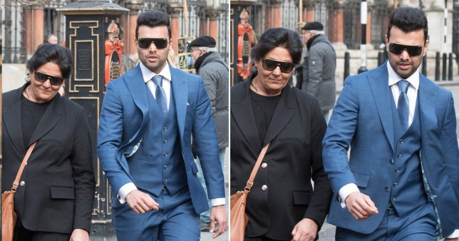 Arti Dhir, 55, and her husband Kaval Raijada, 30, are wanted in India to face charges over an alleged plot to kill an 11-year-old boy they had agreed to adopt