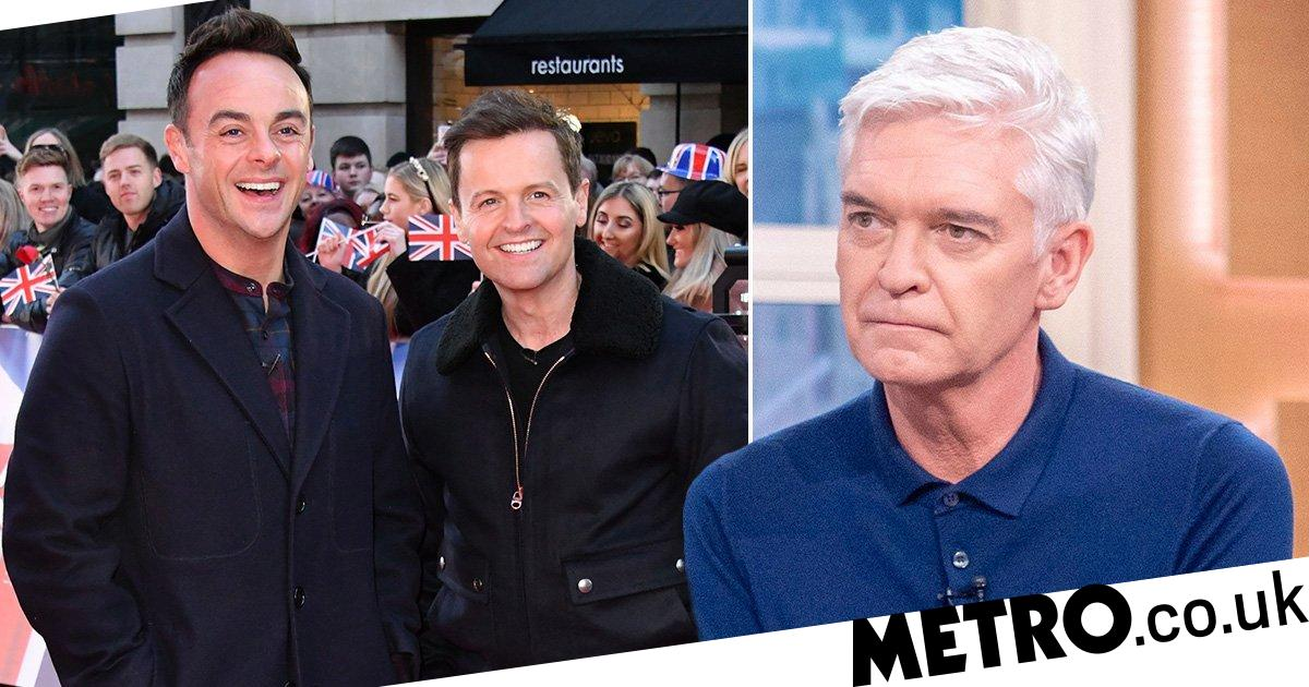 Ant McPartlin and Dec Donnelly praise Phillip Schofield for coming out as gay