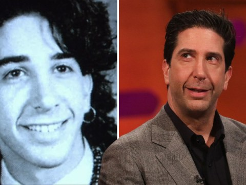 Friends' David Schwimmer's high school yearbook photo is an absolute classic