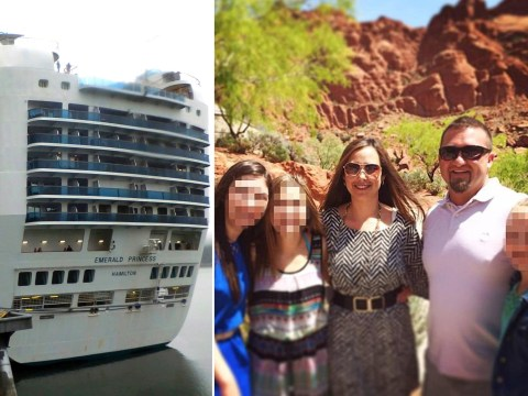 Man admits beating wife to death on cruise ship while children listened