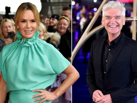 Amanda Holden raises eyebrows with cryptic caption on Instagram after Phillip Schofield publicly comes out