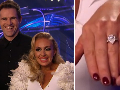 Dancing On Ice: Brianne Delcourt shows off engagement ring as Kevin Kilbane reveals they've set a wedding date