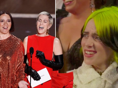 Oscars 2020: Billie Eilish's reaction to Maya Rudolph and Kristen Wiig's impromptu singing is everything