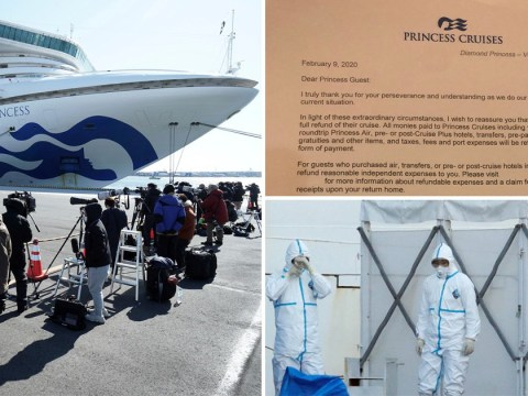 Coronavirus cruise ship passengers to get full refund as 65 more catch disease