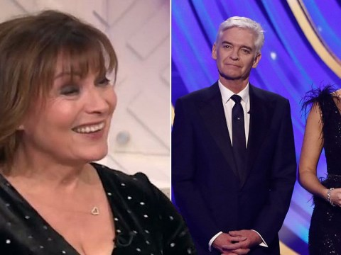 Lorraine Kelly praises Phillip Schofield for Dancing on Ice appearance after coming out: 'That must have been quite difficult'