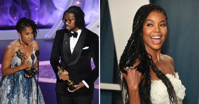 Gabrielle Union Oscars Hair Love