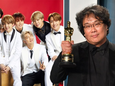 BTS congratulate director Bong Joon Ho after he makes history at the Oscars with Parasite win