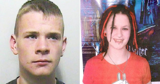 Teen who murdered girl because she was dressed as a goth has jail term cut