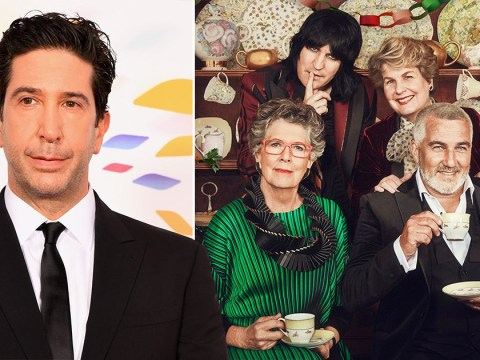 Friends star David Schwimmer adores watching The Great British Bake Off – and we would love to see him on it