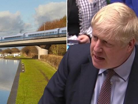 Boris Johnson gives green light for HS2 to be built