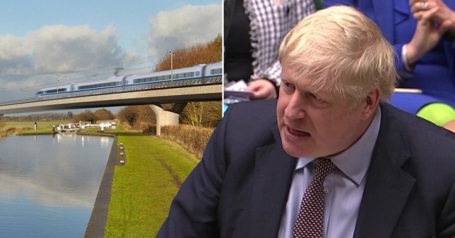 The building of HS2 will go-ahead, Boris Johnson has said (Picture: PA)