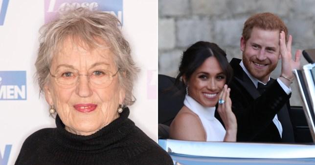 Germaine Greer asks if Meghan is faking love for Prince Harry