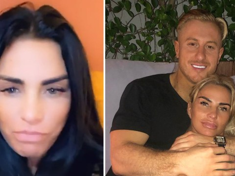 Katie Price has no Valentine's Day date and complains it's 'a shame' after Kris Boyson split