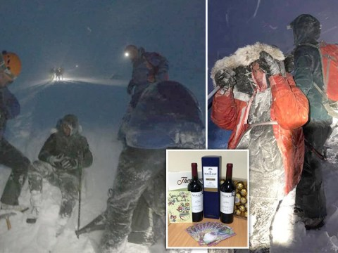 Idiots who wore trainers to climb Ben Nevis in -20°C wind say sorry