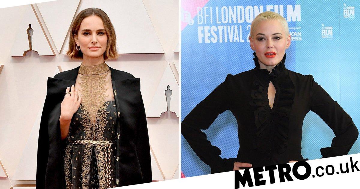 Rose McGowan regrets calling Natalie Portman's Oscars protest 'deeply offensive'