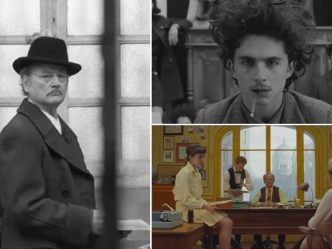 The French Dispatch: Fans get first look at star-studded cast, including Bill Murray, Timothée Chalamet and Owen Wilson, in movie's first trailer