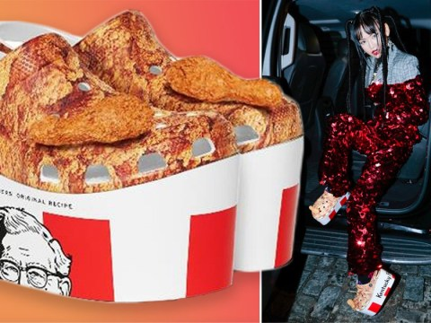 KFC Crocs are here for those moments you want your feet to look like buckets of chicken