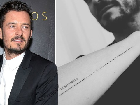 Orlando Bloom accidentally misspells son Flynn's name in new Morse code tattoo