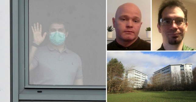 Brits held in quarantine at Arrowe Park hospital on the Wirral will be released today (Picture: PA)
