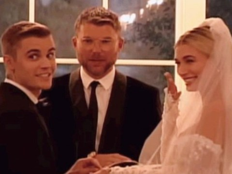 Justin Bieber stumbles over vows in intimate clip from wedding to Hailey Baldwin