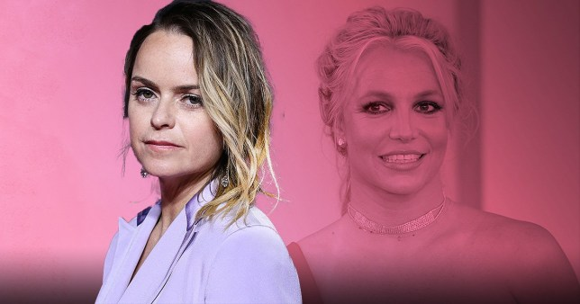 Taryn Manning and Britney Spears