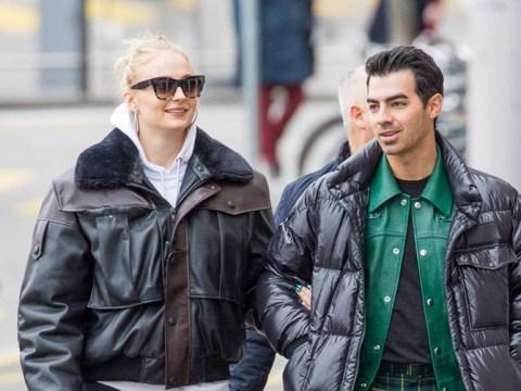 Joe Jonas and Sophie Turner loved up on Swiss getaway as they ignore baby rumours