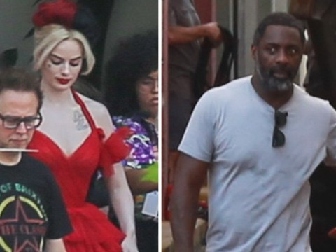 Margot Robbie's Harley Quinn gets glow up on Suicide Squad 2 set with Idris Elba and John Cena