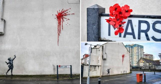 Banksy valentines