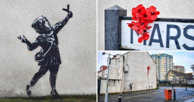 Valentines Banksy