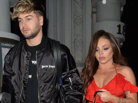 Jesy Nelson and Chris Hughes are absolute couple goals as they go for sweet Valentine's Day dinner