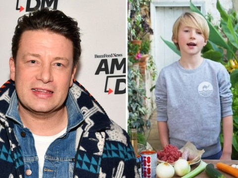 Jamie Oliver's son Buddy whips up bolognese in sweet video and our hearts are hurting at the cuteness
