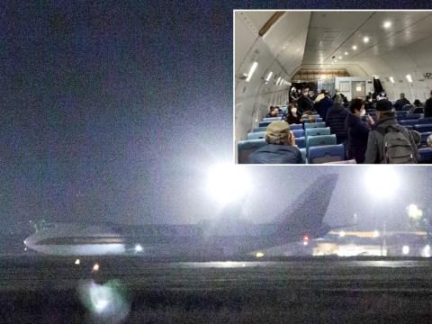 Coronavirus ship evacuees allowed into US despite 14 confirmed as having disease