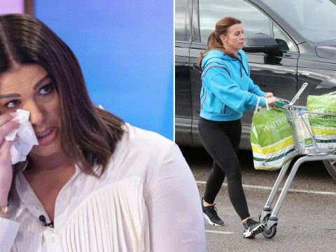 Coleen Rooney is maintaining her silence on Rebekah Vardy row and focusing on the food shop instead