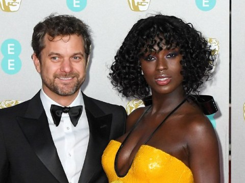 Pregnant Jodie Turner-Smith spices things up with Joshua Jackson with Gucci whip