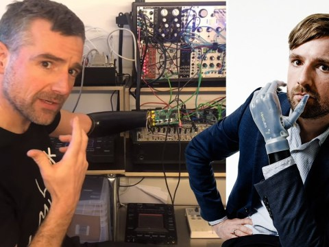 Man hacks prosthetic arm so he can play music with his mind