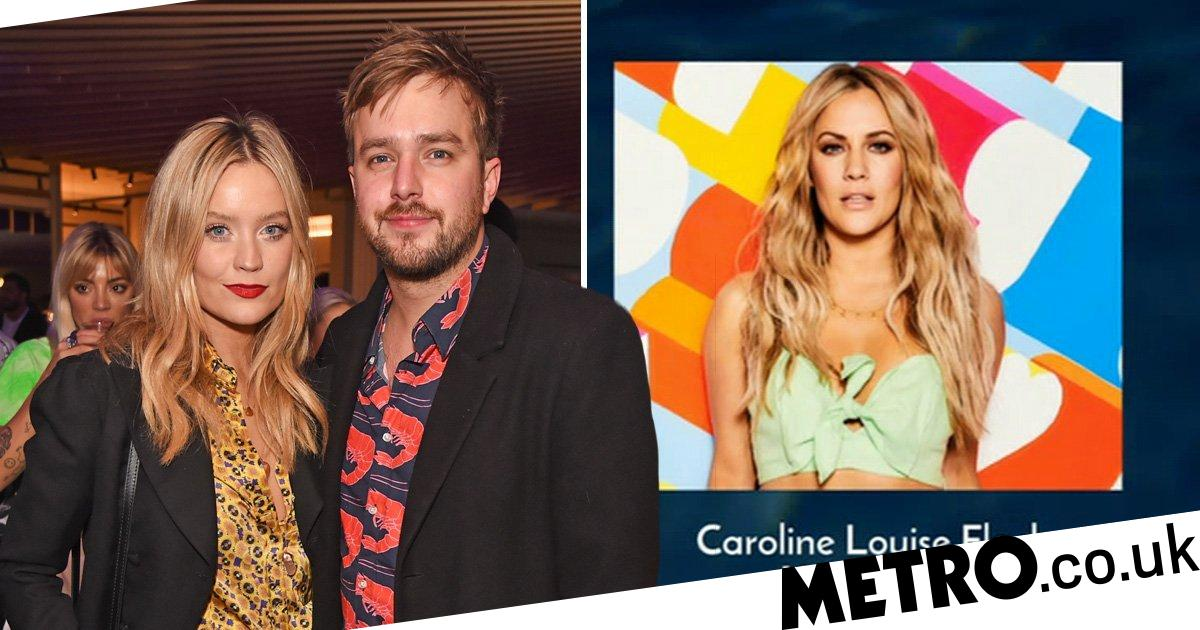 Laura Whitmore reaches out to Iain Stirling after Caroline Flack tribute