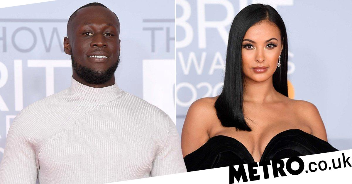 Brits 2020: Stormzy hits red carpet as ex Maya Jama looks unreal in glam dress