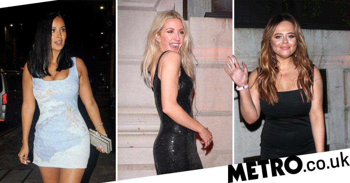 Ellie Goulding gets real flirty in leather for Universal's Brits 2020 bash