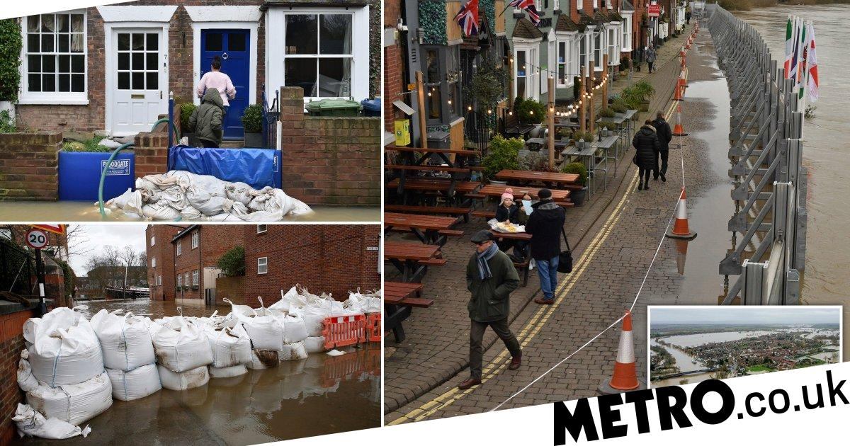 Flood defences in Severn towns 'holding up' but even more rain is on the way