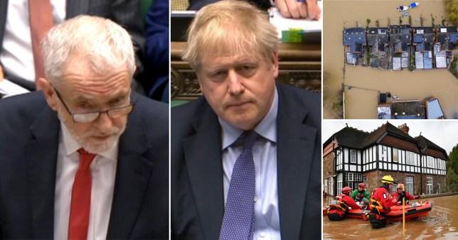 The Labour leader said Boris Johnson 'showed his true colours'