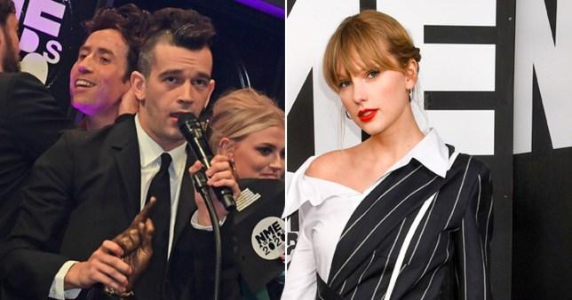 Matt Healy Taylor Swift NME Awards