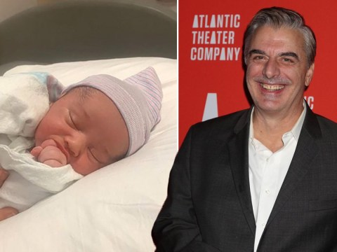Sex and the City star Chris Noth, 65, welcomes second child, son Keats, and shares first picture