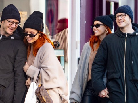 Stacey Dooley and boyfriend Kevin Clifton get annoyingly cute on romantic lunch date