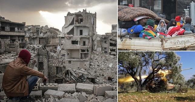 Idlib suffering