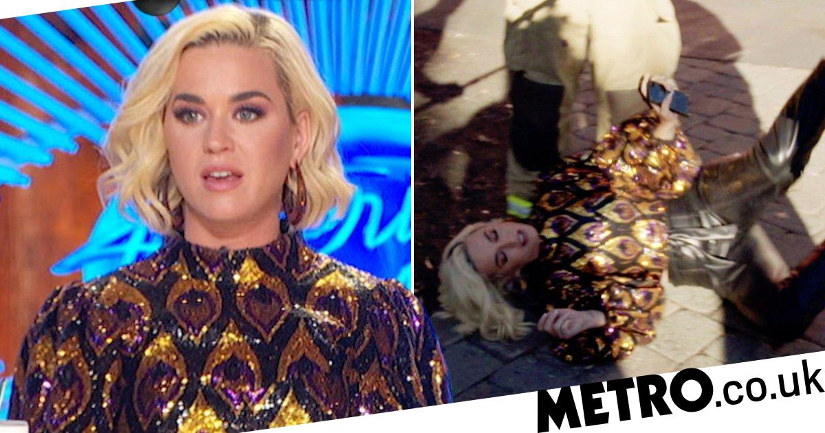 Katy Perry collapses as American Idol gas leak suspends auditions