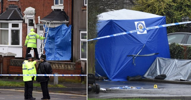 Khuzaimah Douglas, 19, from Moseley, Birmingham, was pronounced dead at the scene after robbers broke into the factory in Pensnett Road in Brierley Hill near Dudley in the early hours of Thursday.