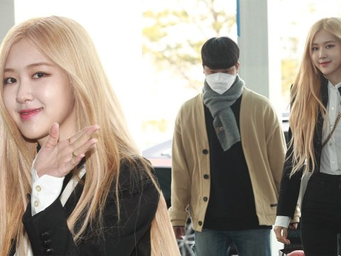 Blackpink's Rosé ditches face mask amid Coronavirus outbreak as she heads to Paris